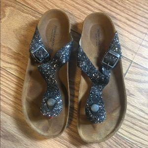Sparkly boutique sandals
